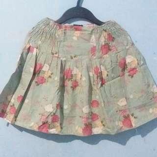 Tosca Flowery Skirt