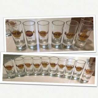 Hard Rock Shot Glasses