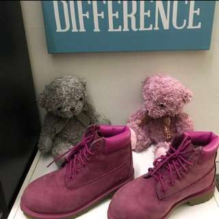 (Authentic)Timberland Boots(Pink)