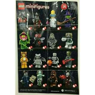 Minifigure series 14 monster