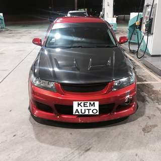 HONDA JDM ACCORD 2.0A CL7 Full Mod