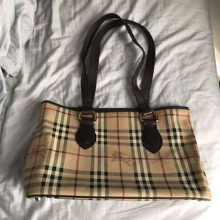 Burberry Classic Checked Tote Bag
