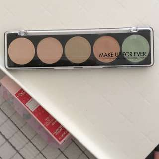 Make up for ever 5 camouflage cream palette No.1