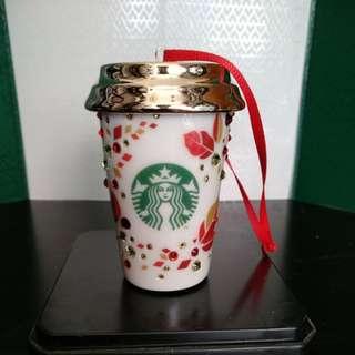 Starbucks-Swarovski 水晶吊飾