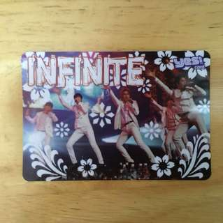 Yes! card-INFINITE