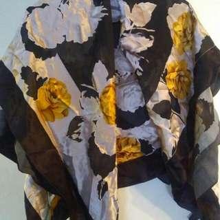Silk like dressy scarves