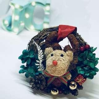 Christmas Wreath - Preserved Flowers