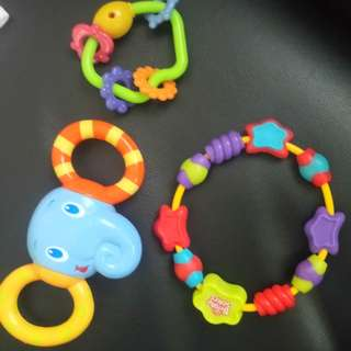 Rattles & Teether (TAKE ALL 150)