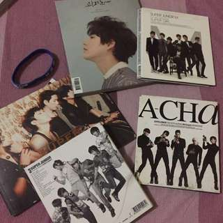 Super Junior old albums