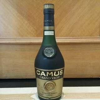 已降價 舊裝  Camus Grand VSOP 40% 70cl Cognac Brandy 金花 VSOP 干邑 拔蘭地 (冇盒)