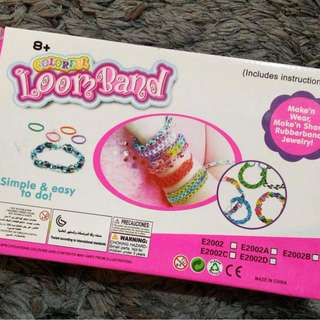 ♻️ Colourful Loomband Bracelets DIY Set for Kids