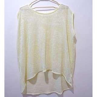 Zara Yellow Top (Medium)