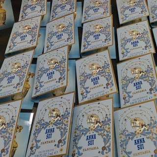 🚚 🦄️ Anna Sui Fantasia 安娜蘇 童話獨角獸 女性淡香水 試管 (噴)2ml 法意公司貨