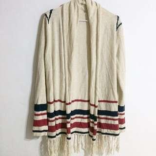 🚚 民族風針織罩衫