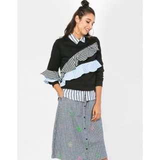 Schmiley Mo ruffles sweater