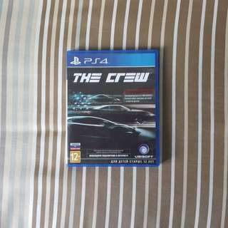PS4 The Crew Game
