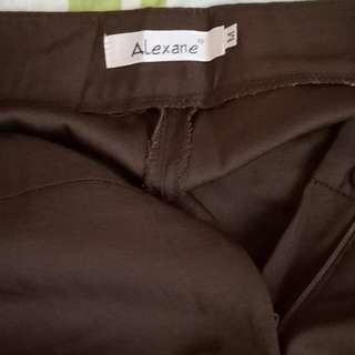 Brown Slacks Alexane Brand