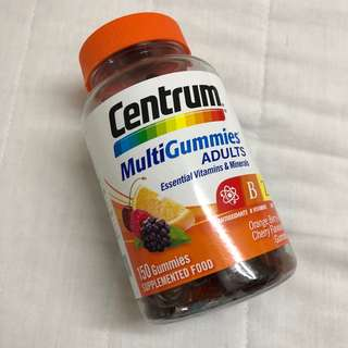 Centrum Multi Gummies Essential Vitamins & Minerals 150 Gummies