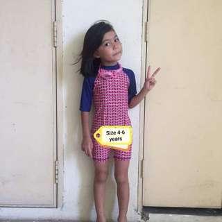 NEW Swimming Suit Baju Mandi