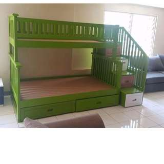 Green Bunk Bed Made to Order
