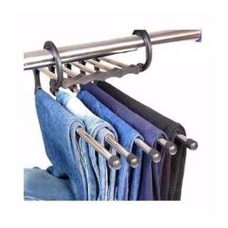 Gantungan jemuran celana panjang  fleksibel HHM013