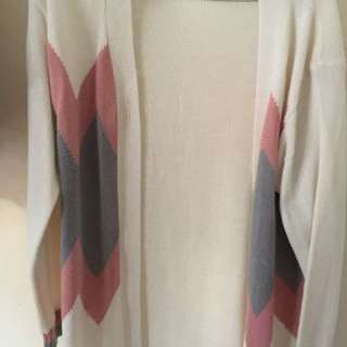Sweater rajut pink