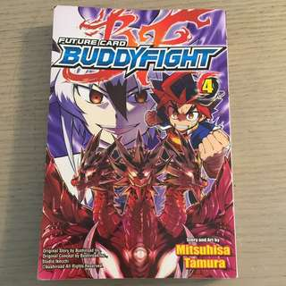 Buddy Fight future card book 4