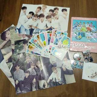 WANNA ONE UNOFFICIAL Merchandise TO BE ONE