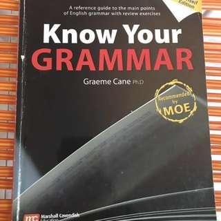 Know Your Grammar