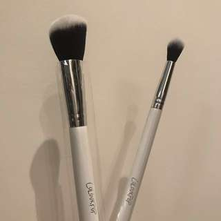 🚚 Colourpop contour brush & eyeshadow brush 全新 修容刷 眼影刷