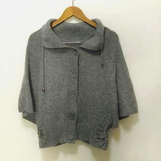 🔥降🔥百搭灰色兩穿針織毛衣