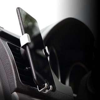 自動收放汽車出風口架