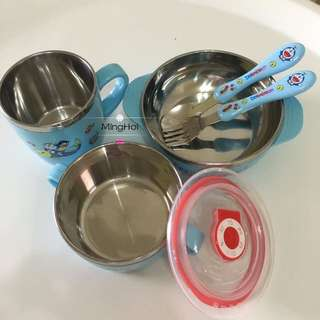 Kid set 5pcs feeding