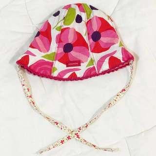 Catimini Baby flowery hat