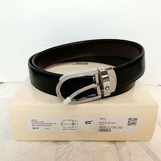 Montblanc belt - man
