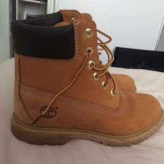 Timberlands working boots