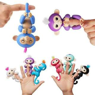 Fingerlings Electronic Monkey Toy