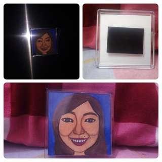 Caricature Ref Magnet