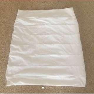 Kookai High Waisted Bandeau Skirt Size 8 au