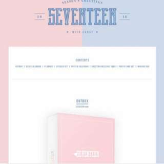 [LF/WTB] SVT SEASON GREETINGS LOOSE