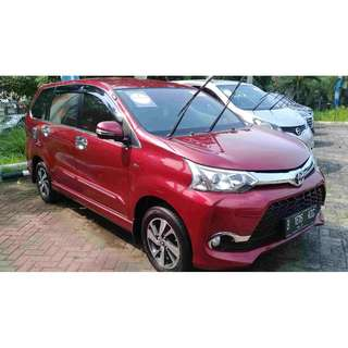 toyota avanza g new veloz 1.5 bensin AT 2016
