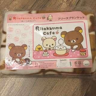 Rilakkuma Cafe Blanket 鬆馳熊可愛毛毯H70cm x W100cm