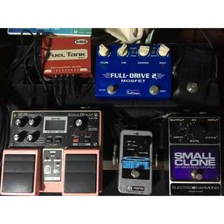 Lot of pedals (no trades)