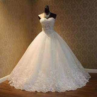 結婚 婚紗 晚裝 (度身訂造) / 婚紗拍攝/ 晚宴/ 酒會/ 行禮/ 婚宴/ wedding/evening gown / wedding gown/ prewedding