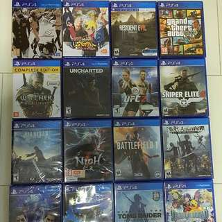 PS4 Game Rental