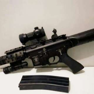 Airsoft M4 APS PATRIOT