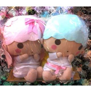 "Sanrio Little Twin Stars Plush Doll Set 14""  Pre- order"