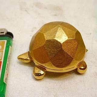 鍍金非鐵金屬  福龜型 放大鏡
