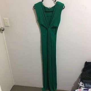 Green Long Gown