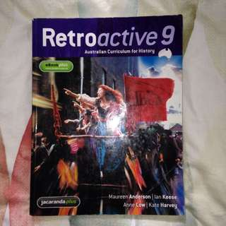 Retroactive History Textbook & Workbook